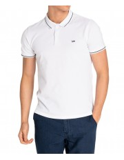 Lee PIQUE POLO L61A Bright White