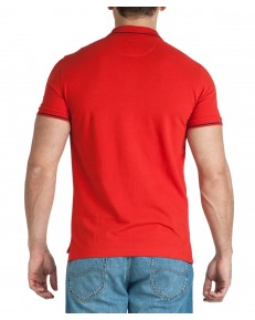 Lee PIQUE POLO L61A Poppy Red