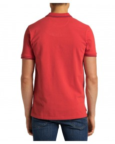 Lee PIQUE POLO L61A Washed Red