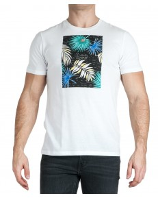 Lee BOTANICAL PRINT TEE L61I Black