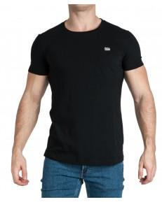 T-shirt Lee ELONGATED TEE L61K Black