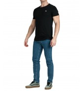 Lee ELONGATED TEE L61K Black