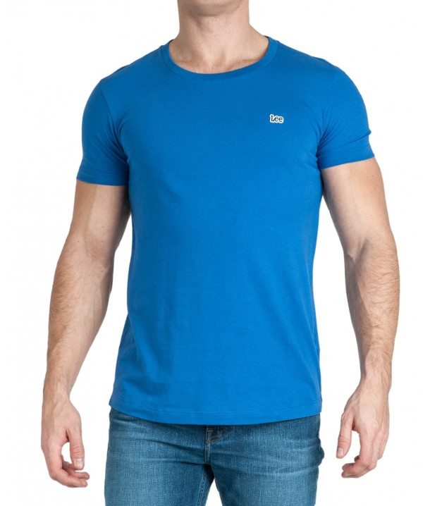 T-shirt Lee ELONGATED TEE L61K Summer Blue L61KEPNJ