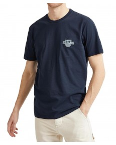 Lee CHEST LOGO TEE L61M Sky Captain