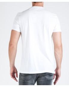T-shirt Lee GRAPHIC TEE L62B White White