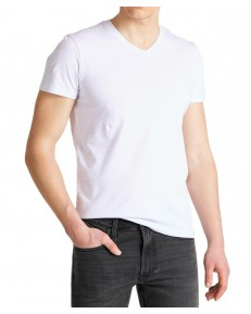 Lee TWIN PACK V NECK TEE L62E Black/White