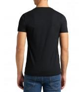 T-shirt Lee TWIN PACK V NECK TEE L62E Black