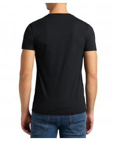 Lee TWIN PACK V NECK TEE L62E Black