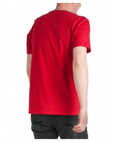 Lee SMALL LOGO TEE L62G Bright Red