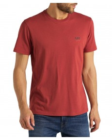 T-shirt Lee SMALL LOGO TEE L62L Red Orche