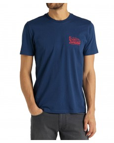 Lee 70S LOGO TEE L62N Washed Blue
