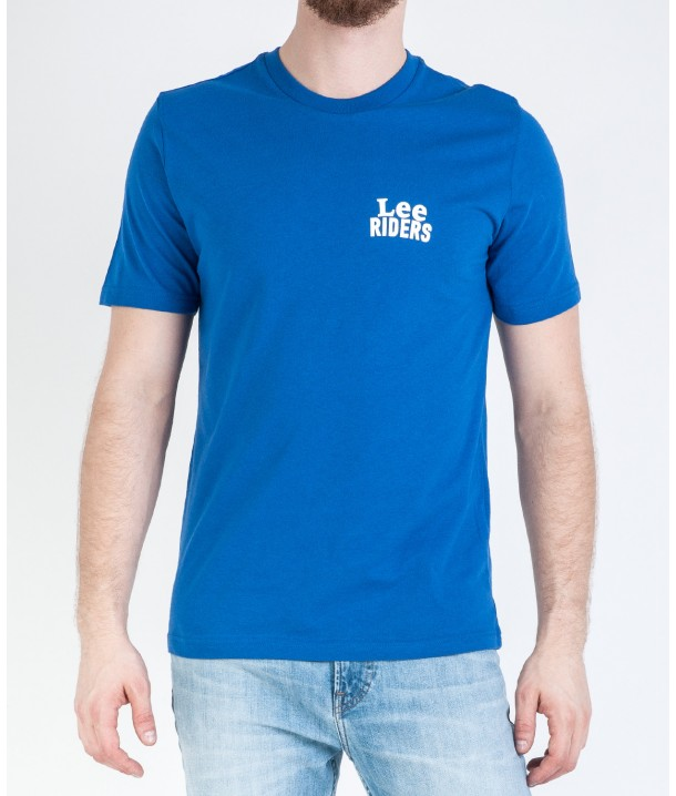 Lee MINI LOGO TEE L62R Indigo Flash L62RREED