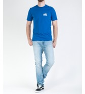Lee MINI LOGO TEE L62R Indigo Flash