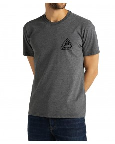 T-shirt Lee SS TONAL GRAPHIC TEE L62W Dark Grey Mele