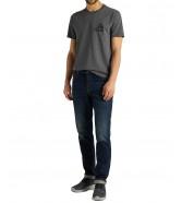 T-shirt Lee SS TONAL GRAPHIC TEE L62W Dark Grey Mele