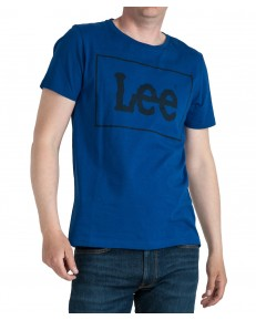 Lee BOX LOGO TEE L62Z Sodalite Blue