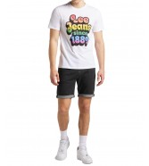 Lee SS PRIDE TEE GRAPHIC L63I White
