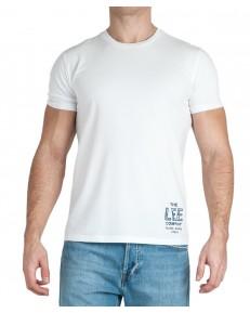 Lee BRANDED TEE L63K Bright White