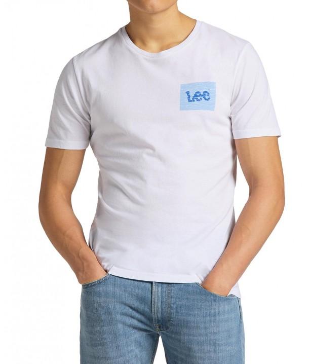 T-shirt Lee SUMMER LOGO TEE L63L Bright White