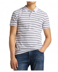 Lee STRIPY POLO L63P White
