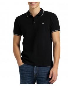 Koszulka Lee PIQUE POLO L63X Black