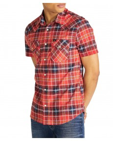 Lee SS WESTERN SHIRT L640 Poppy Red