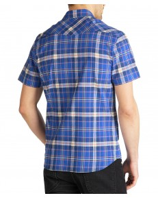 Lee SS WESTERN SHIRT L640 Summer Blue