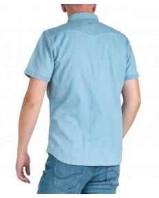 Lee SS WESTERN SHIRT L641 Light Blue
