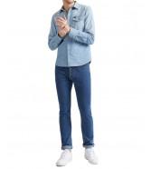 Lee WESTERN SHIRT L643 Faded Blue