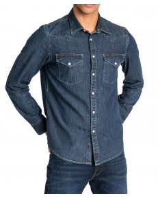 Lee WESTERN SHIRT L643 Blueprint