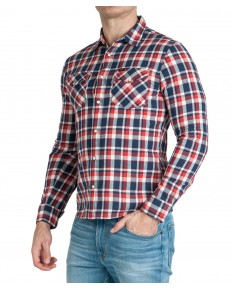Lee WESTERN SHIRT L644 Poppy Red