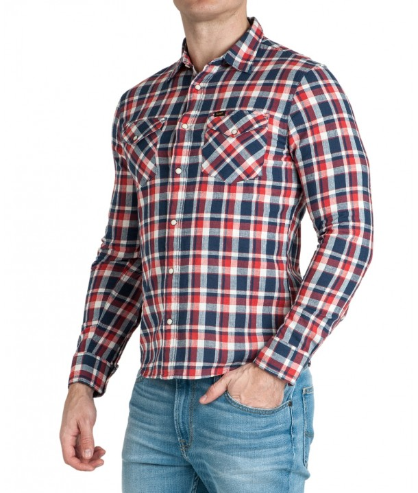 Lee WESTERN SHIRT L644 Poppy Red L644DINH