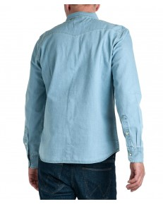 Lee CLEAN WESTERN SHIRT L644 Faded Blue