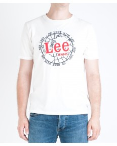 Lee WORLD TEE L64B Off White