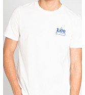 Lee MINI LOGO TEE L64D Vanilla Ice