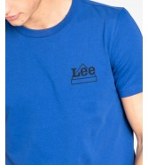 Lee MINI LOGO TEE L64D French Blue