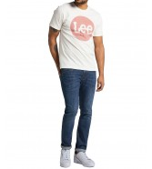Lee CIRCLE TEE L64E Off White