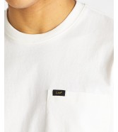 Lee POCKET TEE L64P Ecru
