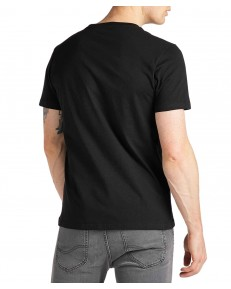 Lee CHEST LOGO TEE L64R Black