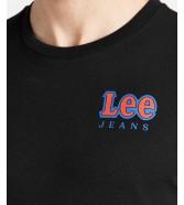 Lee CHEST LOGO TEE L64R Black
