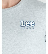Lee LS CHEST LOGO TEE L64S Sharp Grey Mele