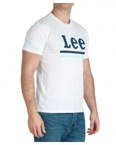 T-shirt Lee STRIPE TEE L64V Bright White