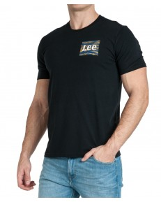 Lee CAMO PACKAGE TEE L64W Black