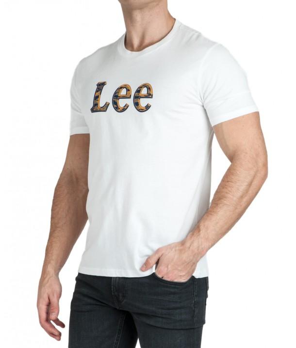 Lee CAMO PACKAGE TEE L64W Bright White L64WFELJ