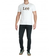 Lee CAMO PACKAGE TEE L64W Bright White