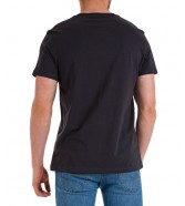 T-shirt Lee TWIN PACK GRAPHIC L65R Washed Black/Navy