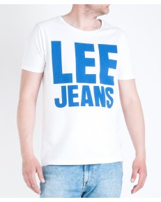 Lee JEANS GRAPHIC TEE L65R White