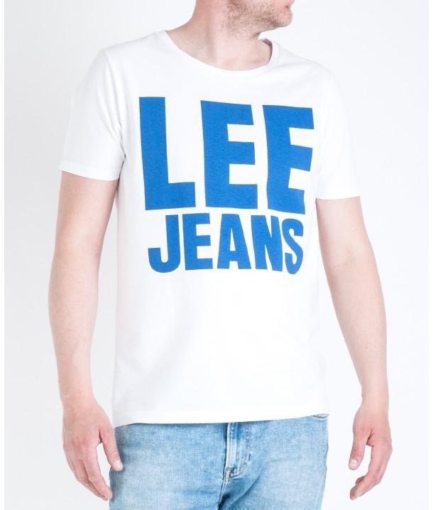 Lee JEANS GRAPHIC TEE L65R White L65RBC12