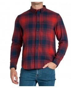 Koszula Lee RIVETED SHIRT L66I Red Ochre