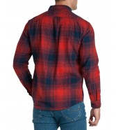 Lee RIVETED SHIRT L66I Red Ochre